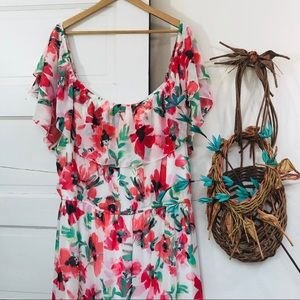 Beautiful Jessica Howard Floral Maxi Size 22W